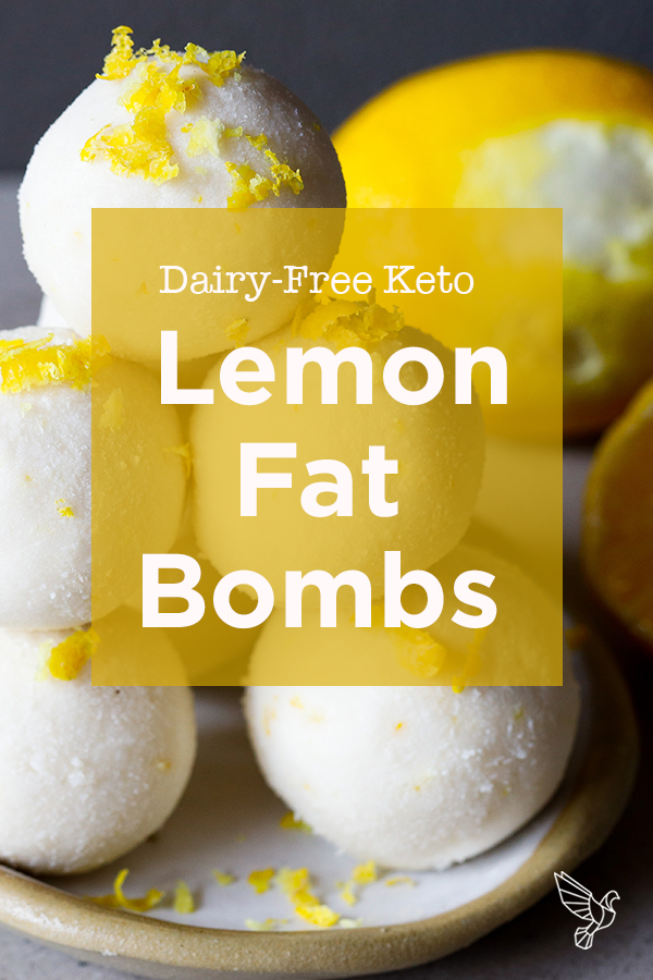 With fresh citrus juice and zest, these tangy lemon fat bombs take minutes to prep and slash sugar cravings with dairy-free fats.